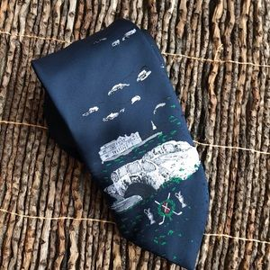 St Andrew's golf neck tie open collection sport